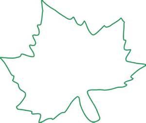 Green Leaf Outline Png by Leaf Outline Clip At Clker Vector Clip Royalty Free Domain