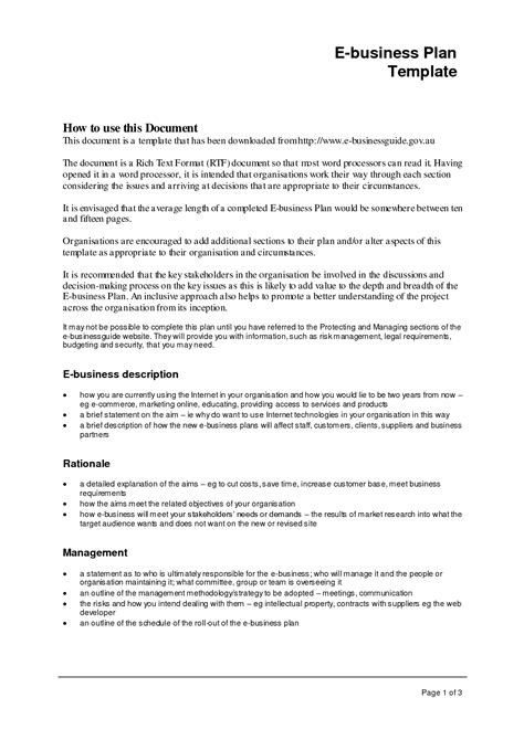 business plan exle completed business plan sles