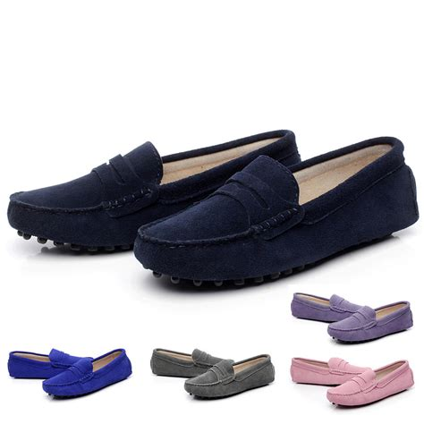 womens driving loafers new s driving car moccasins loafers soft
