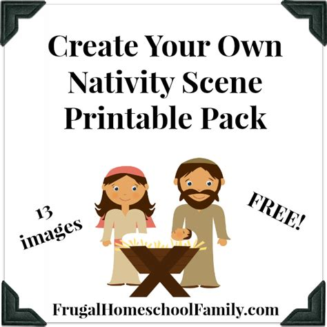 printable nativity scene free cut out manger template search results calendar 2015