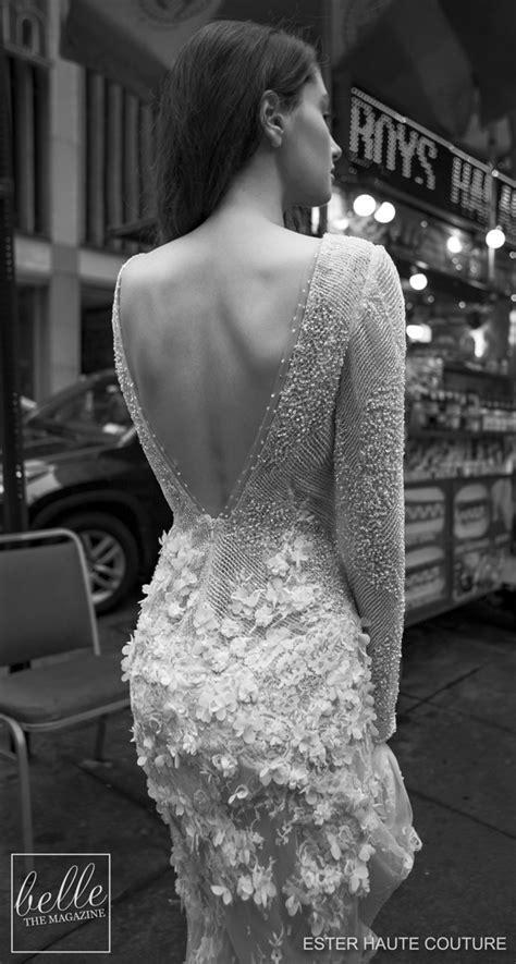 Ester Haute Couture Wedding Dresses 2019   Belle The Magazine