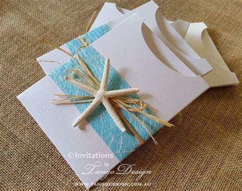 Hawaiian Wedding Invitations by Hawaii Wedding Invitations W Starfish And Travel Info Card