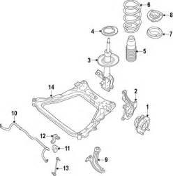 2012 Nissan Sentra Parts Front Suspension For 2012 Nissan Sentra