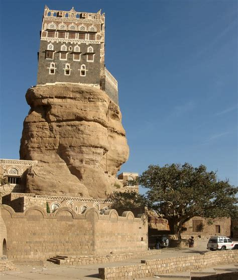 House Rock by Ali Visit To The Valley Daher In Sana A Yemen
