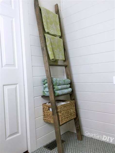 Bathroom Storage Ladder 57 Best Diy Closet Storage Images On Pinterest Armoire Closet Storage And Room Closet