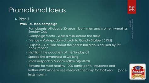 promotion ideas promotional ideas for sun flower by raaga