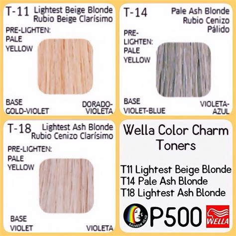color charm toner the 25 best wella color charm toner ideas on