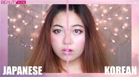 tutorial lipstik gradasi korea 8 perbedaan antara makeup jepang dan korea kawaii beauty