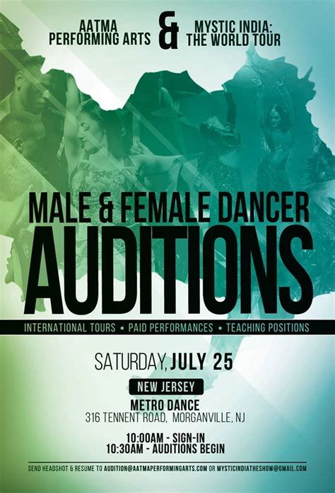 bollywood dance auditions in new jersey auditions free