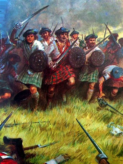 17 best images about scottish jacobites and warriors on scottish clansmen at the battle of culloden jacobite
