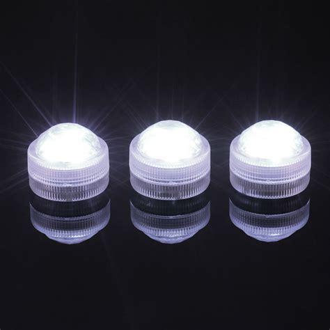100pcs lot super bright 3led white warm white submersible