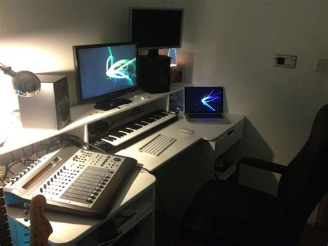 bedroom studio setup bedroom studio desk trends also with in setupwith pictures