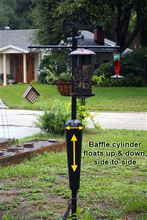 best squirrel proof bird feeder pole system baffle