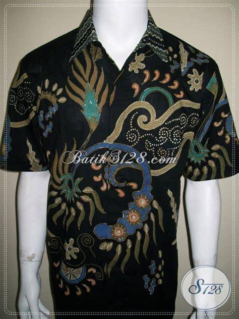 Sale Kemeja Hem Batik Pria Pekalongan Megono Coklat batik model hem pria lengan pendek rc452 bed mattress sale