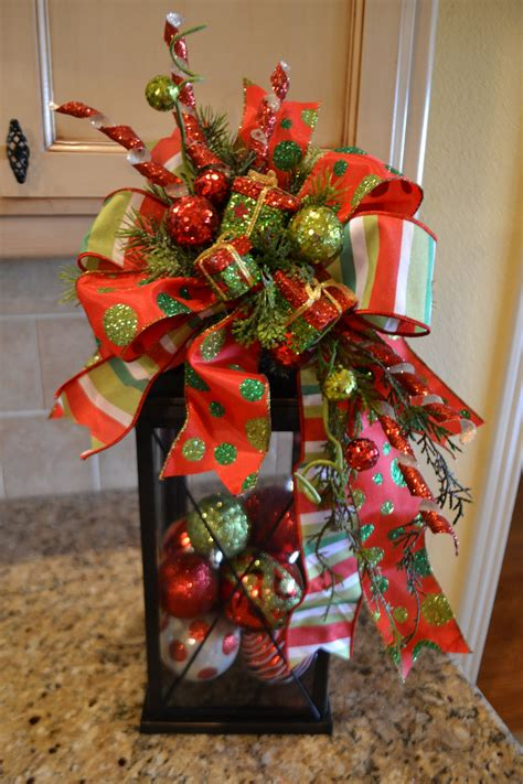 How To Decorate A Swag For by Whimsical Present Lantern Swag