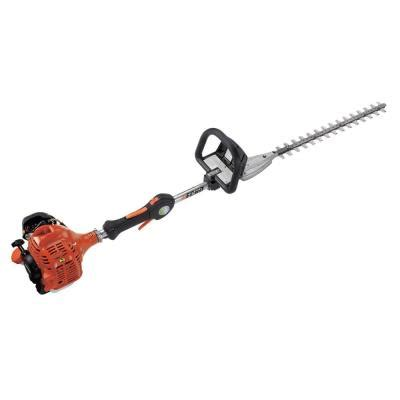 home depot hedge trimmer echo 20 in 21 2 cc gas hedge trimmer shc 225s the home