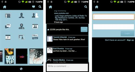 theme line android facebook themes facebook android images