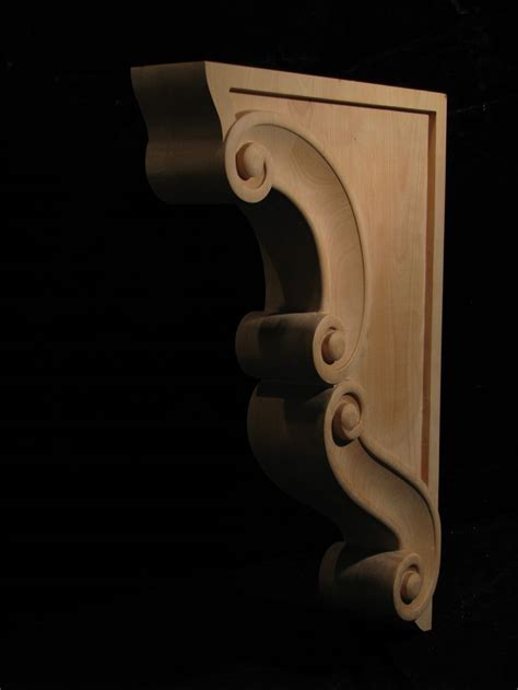 Wood Corbels Ontario Carved Wood Corbel Volute Corbel Carved Ropes