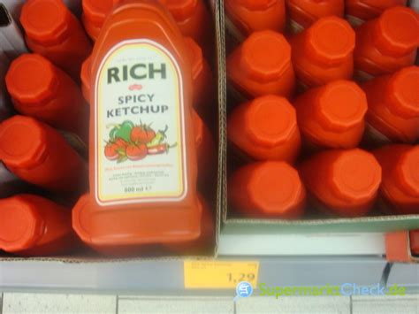 Rich Delicious rich delicious ketchup spicy ketchup infos angebote preise