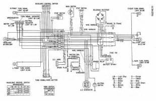 wiring diagram of honda cd 125s motorcycle circuit