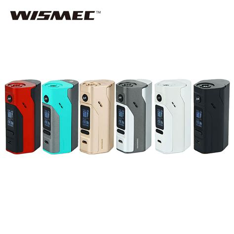 Wismec Reuleaux Rx2 3 Tv 150w 200w Variable Voltage Wattage Box Mod original 150w 200w wismec reuleaux rx2 3 box mod temp mod upgradeable firmware reuleaux