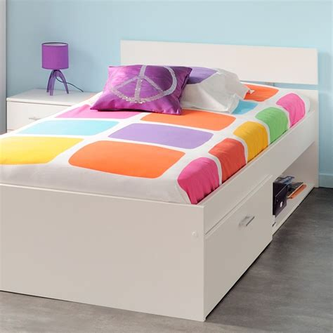 Etagenbett Mit Stauraum 155 by Bett 90x200 Wei 223 Mit Bettkasten Kinderbett Jugendbett