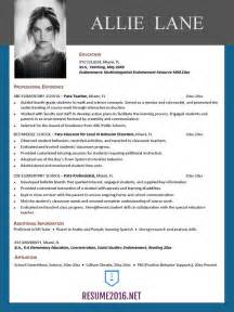 Resume Templates Best by Resume Templates 2016 Which One Should You Choose