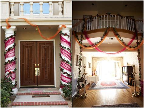 engagement decoration ideas home small details for an at home party indian engagement
