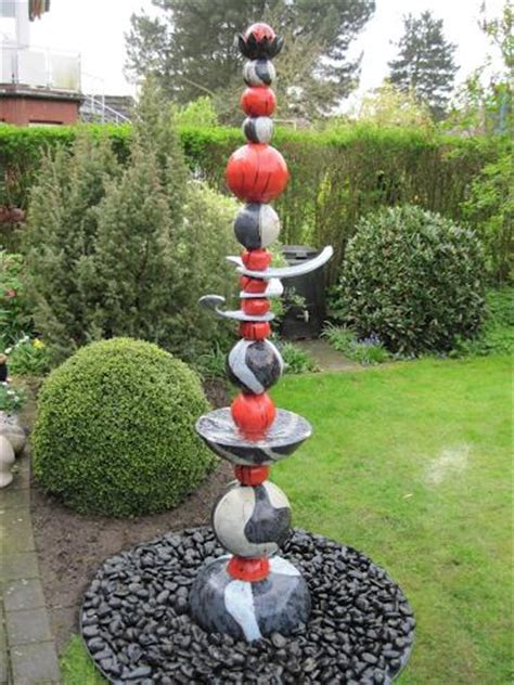 Stelen Garten by Quot Stele Wassers 228 Ule Brunnen Quot By Mario Geister Interiors Gardens Sculpture