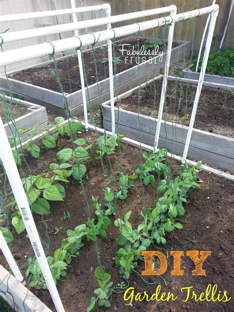 build garden trellis diy garden trellis