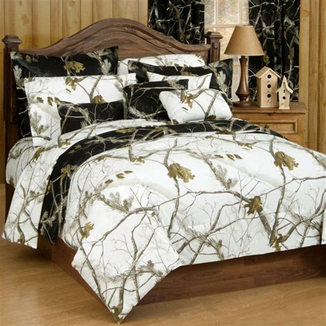camo bed sets ap black and white camo reversible twin xl bed in a bag