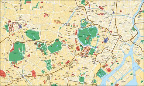 Map of Tokyo. City maps of Japan ? Planetolog.com