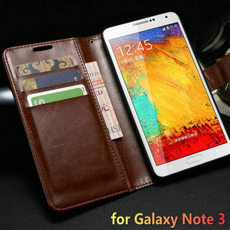 Samsung Note 3 Flip Wallet Leather Casing Cover Dompet Kulit Kuat vintage wallet with stand pu leather for samsung