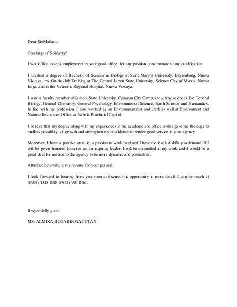 application letter greetings application letters 2015 dear sir madam greetings of