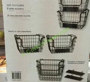 costco new year gift basket costco 695323 gourmet basics by mikasa 2pk hartneg baskets