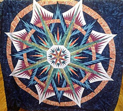 pin by quiltworx judy niemeyer on mariner s compass