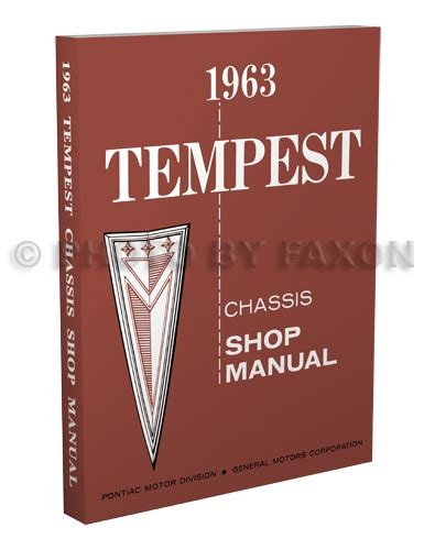 1964 pontiac tempest and lemans repair shop manual reprint 1963 pontiac tempest and lemans repair shop manual reprint