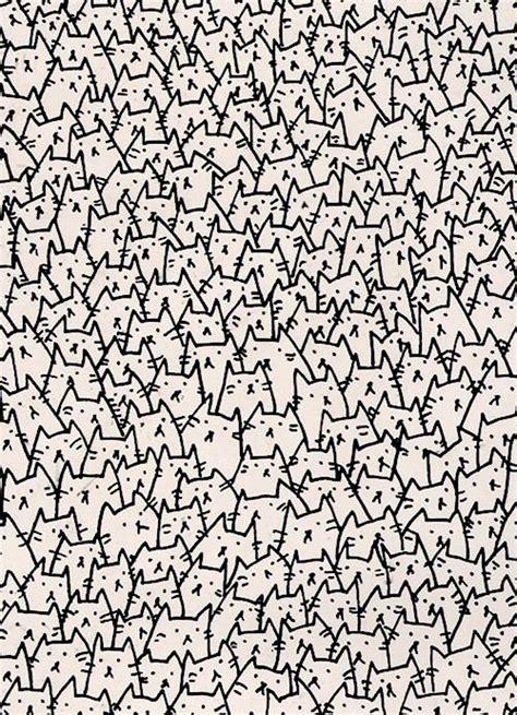 wallpaper cat drawn drawing tumblr image 1004914 by korshun on favim com