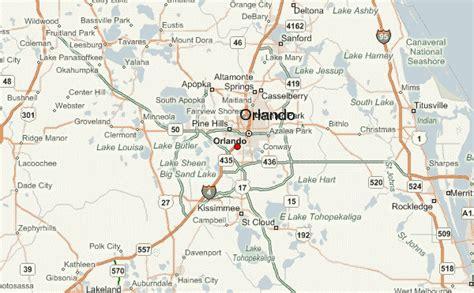 map of orlando florida and surrounding cities orlando location guide