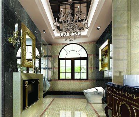 europe interior design villa luxury bathroom interior design by european style