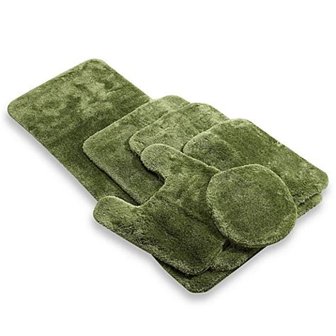 60 inch bath rug buy wamsutta 174 duet 24 inch x 60 inch bath rug in green from bed bath beyond
