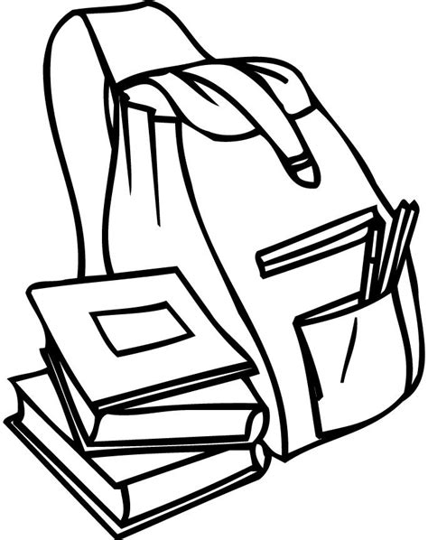 pack book colouring pages