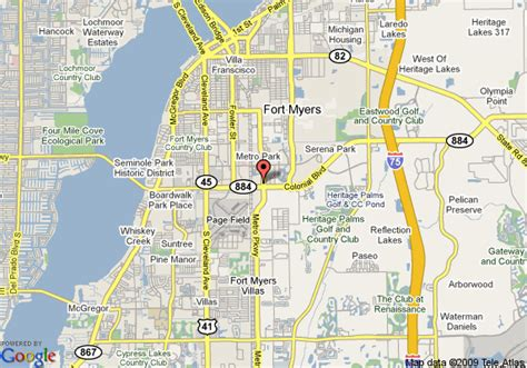 fort myers resort map map of courtyard by marriott fort myers fort myers