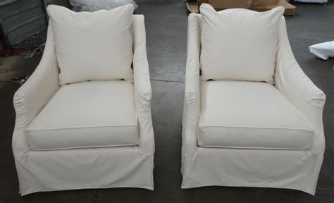 Swivel Tub Chair Slipcovers Chairs Seating Slipcovered Swivel Chair