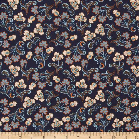 designer fabric modern lace reticella navy discount designer fabric
