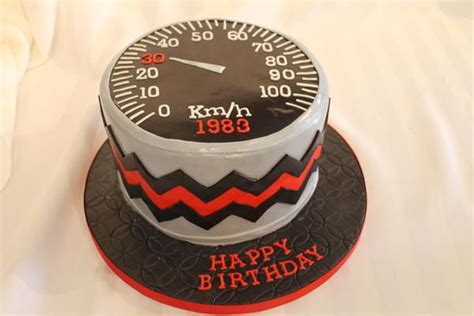 custom cakes invitations speedometer racing cake cakes birthday cake