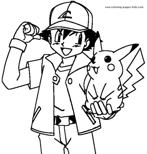 coloring pages for pokemon characters pokmon color page cartoon color pages printable