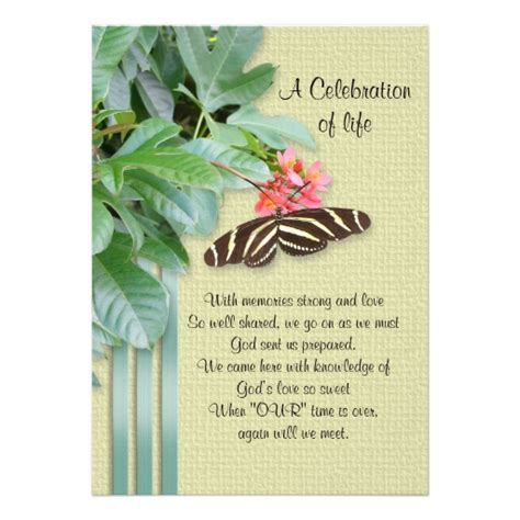 celebration invitation templates free celebration of invitation 5 quot x 7 quot invitation card