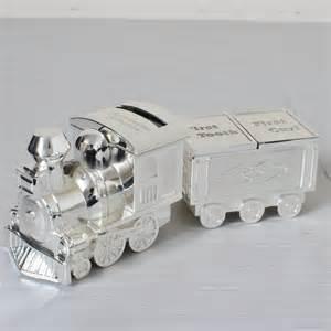 best best black friday deals silver plated train money box christening gift