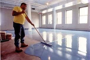 Benefits Of Laminate Flooring applying concrete floor paint the best way kansas city